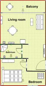 tlocrt-apartman